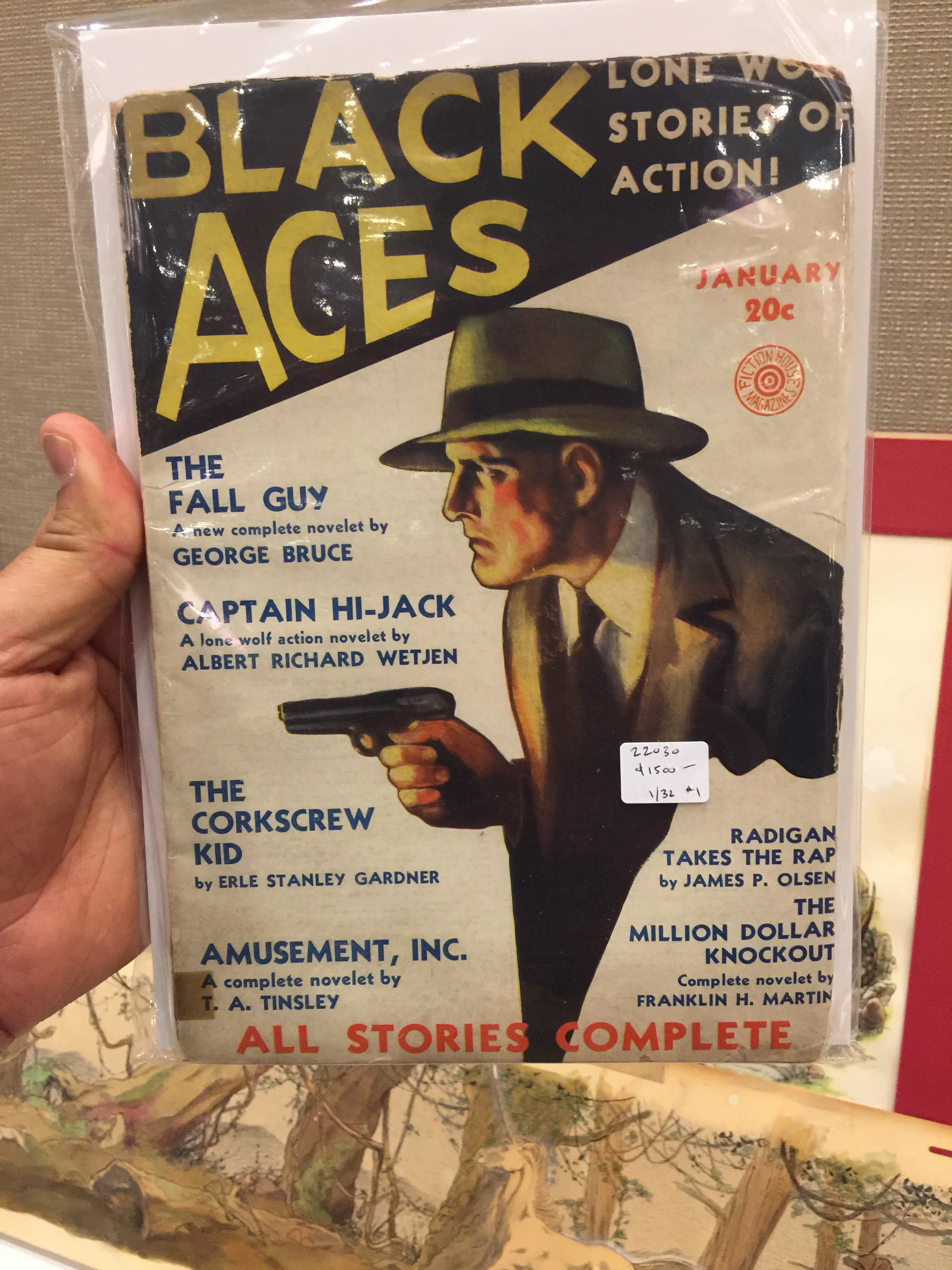 Black Aces, the rarely seen, short-lived competition for Black Mask from Fiction House